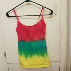Rasta Tie Dye Camisole